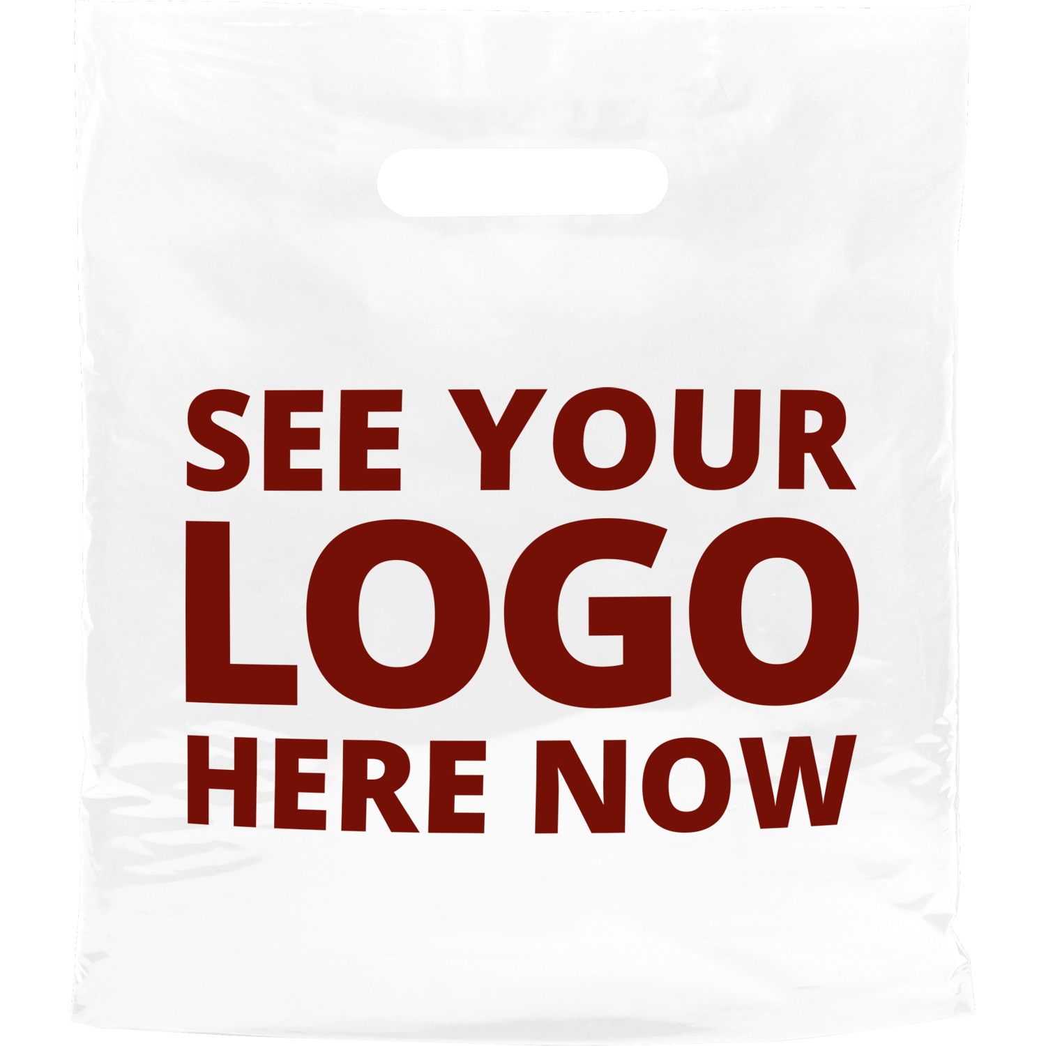 Biodegradable Printed Carrier Bag - Small