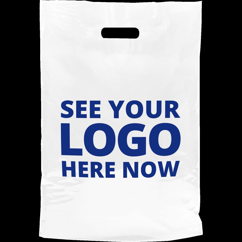 Biodegradable Printed Carrier Bag - Medium