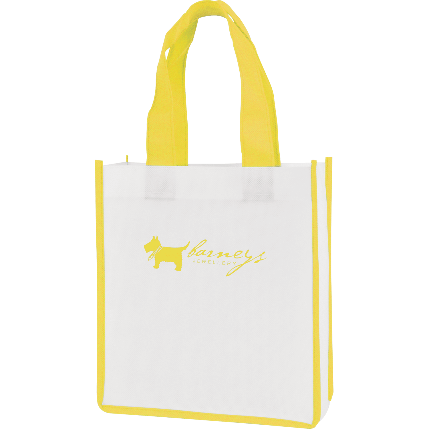 Mini Contrast Non-Woven Shopper Bag