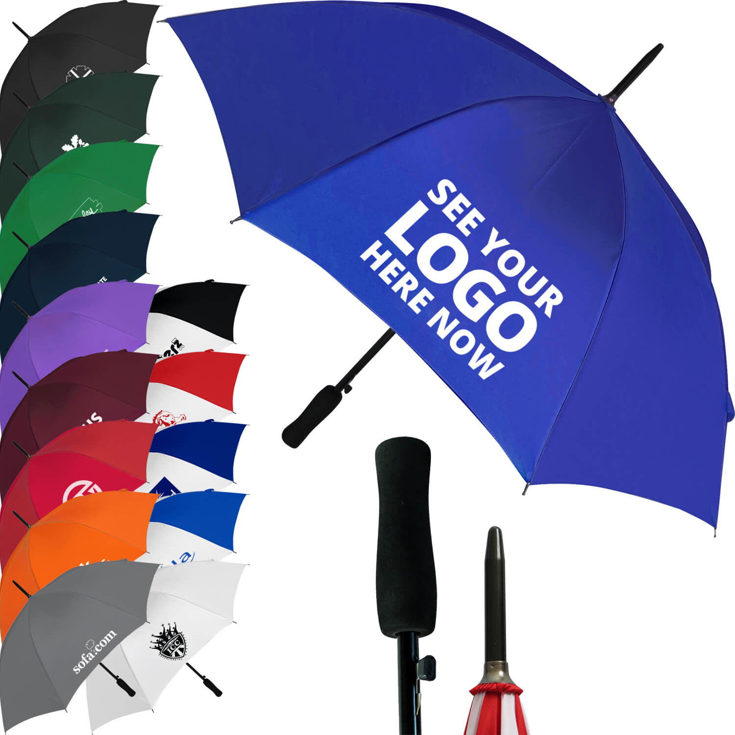 Budget Automatic Walking Umbrella