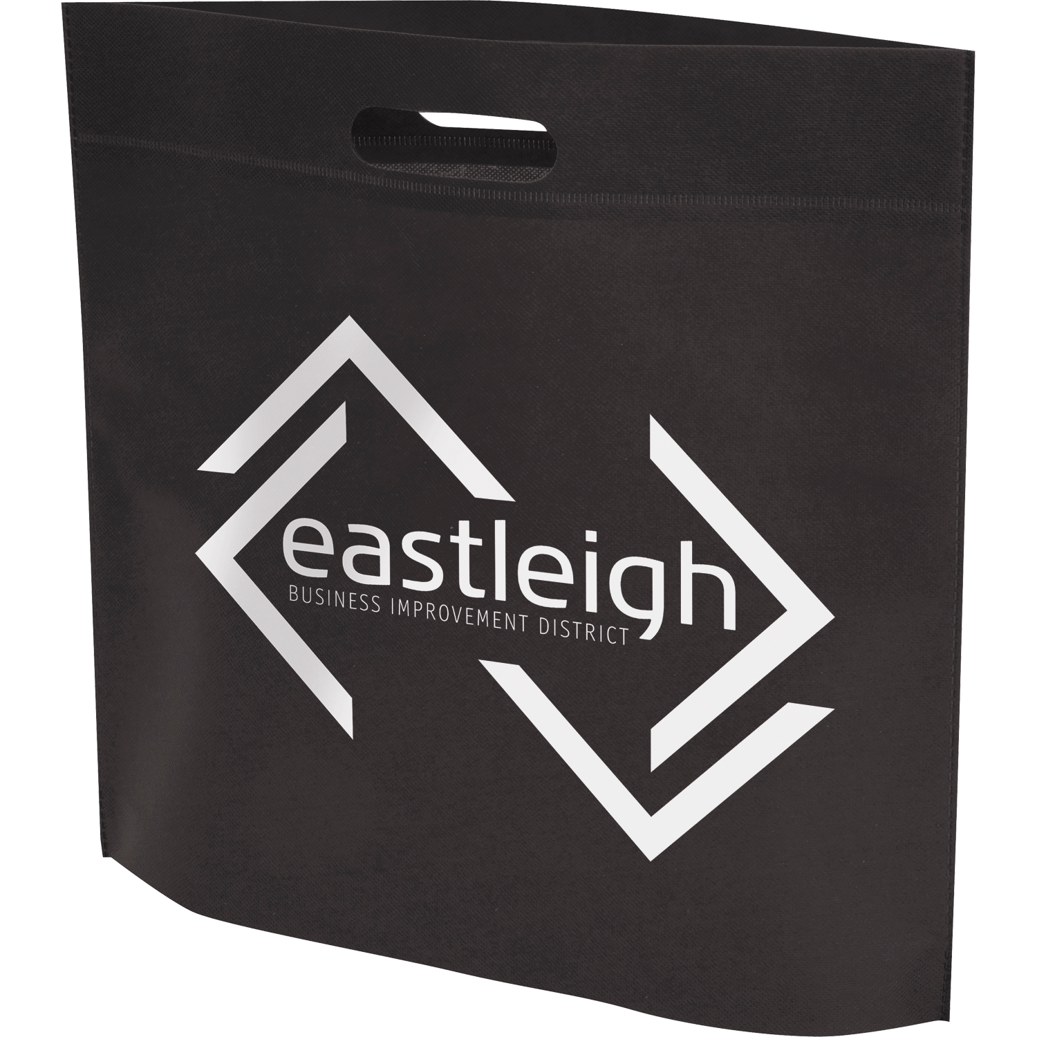 Branded Non-Woven Patch Handle Shopper Bag