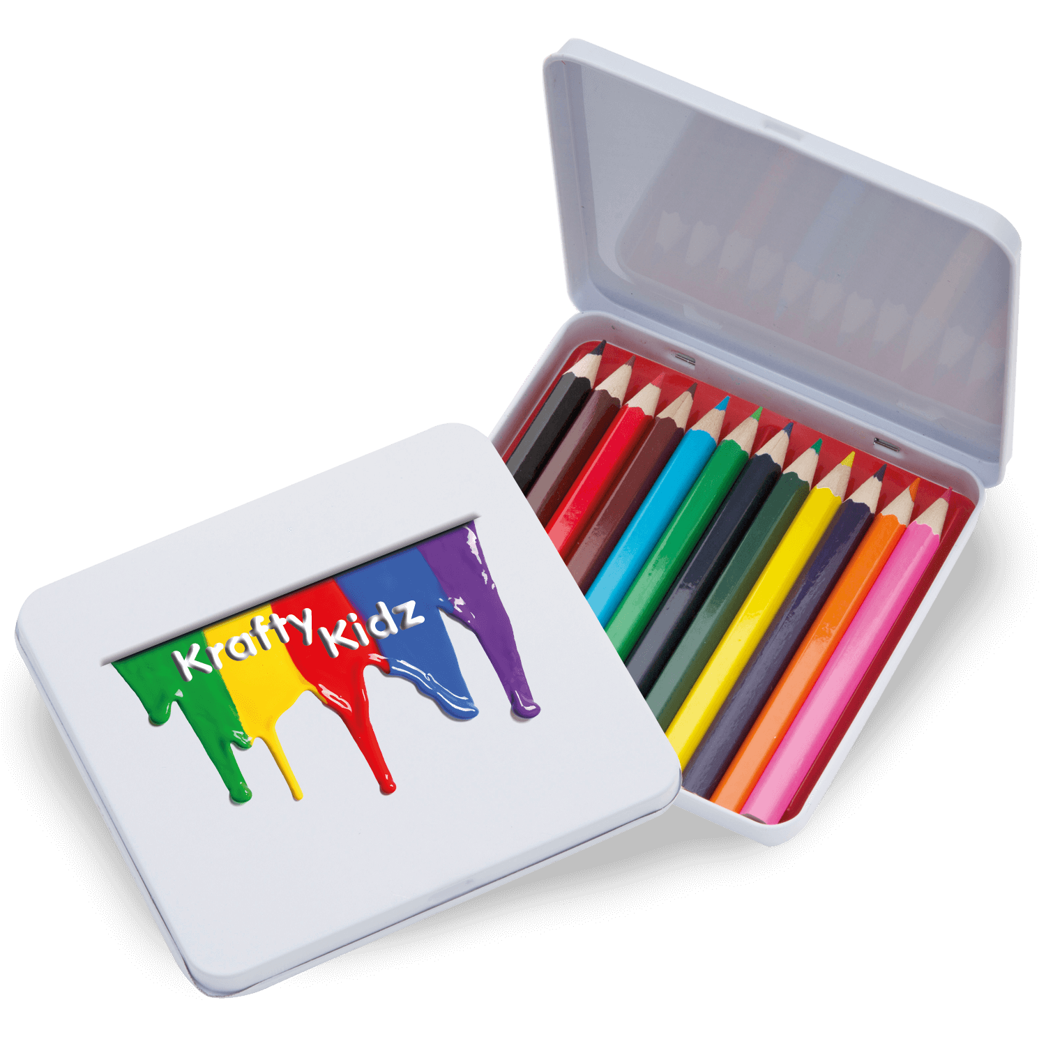 Colouring Pencils Tin