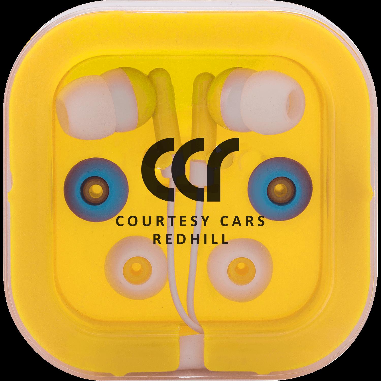 Printed Colour Earphones