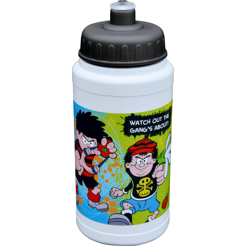 Full Colour Sports Bottle 500ml - White