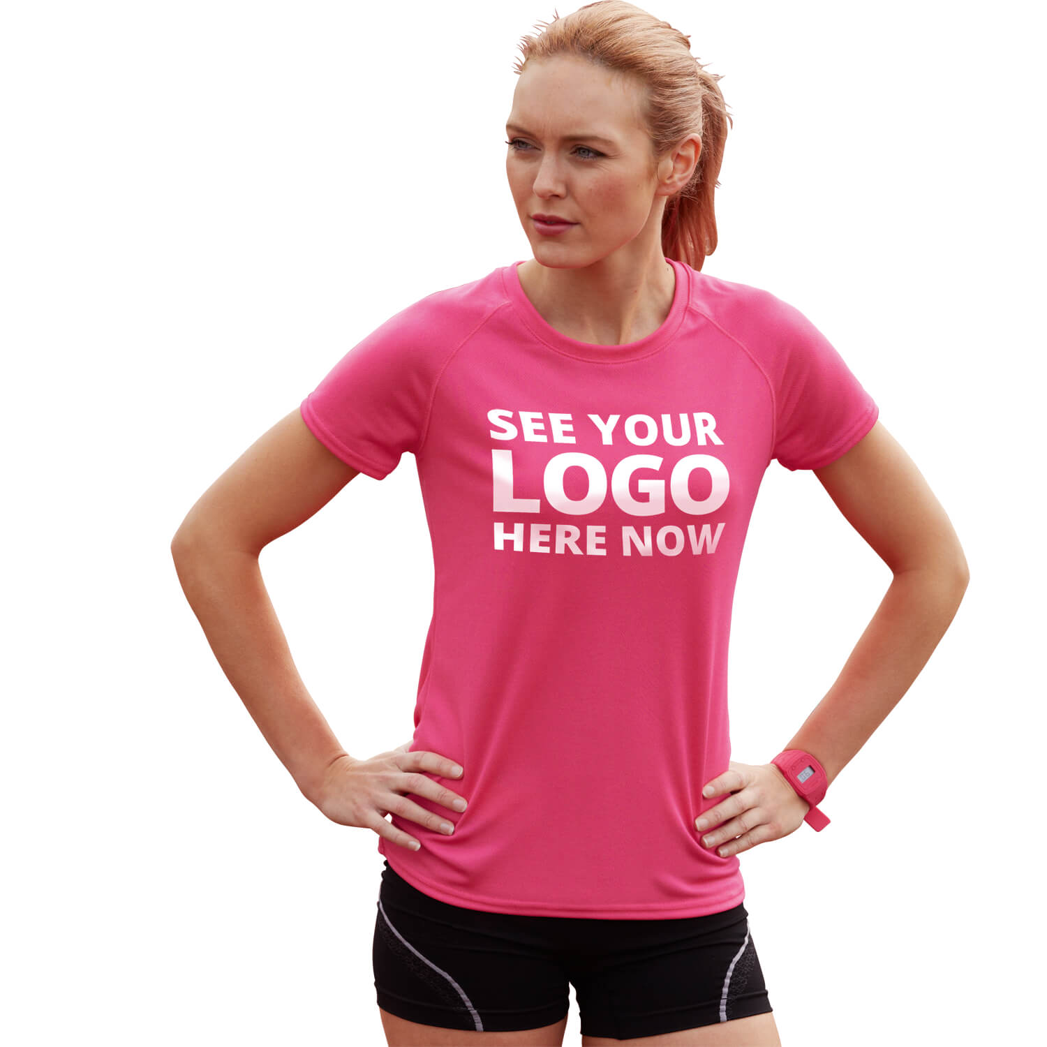 Lady-Fit Performance T-Shirt