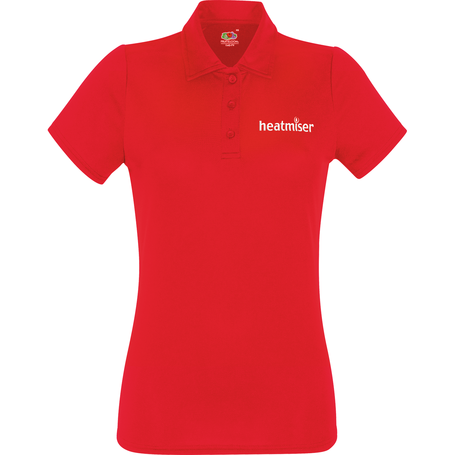 Lady fit quick dry performance polo shirt hotline for Custom dry fit polo shirts