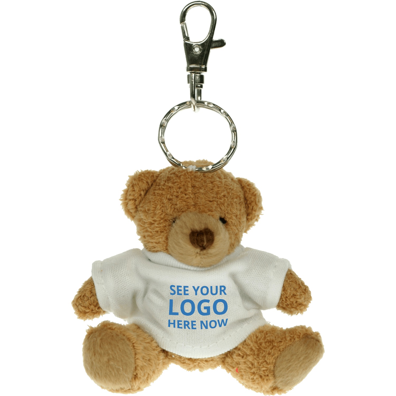 Tubby Teddy Bear Keyring