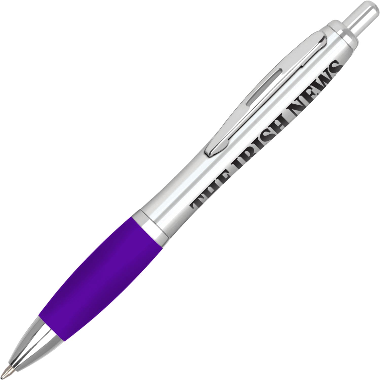 Silver - Purple