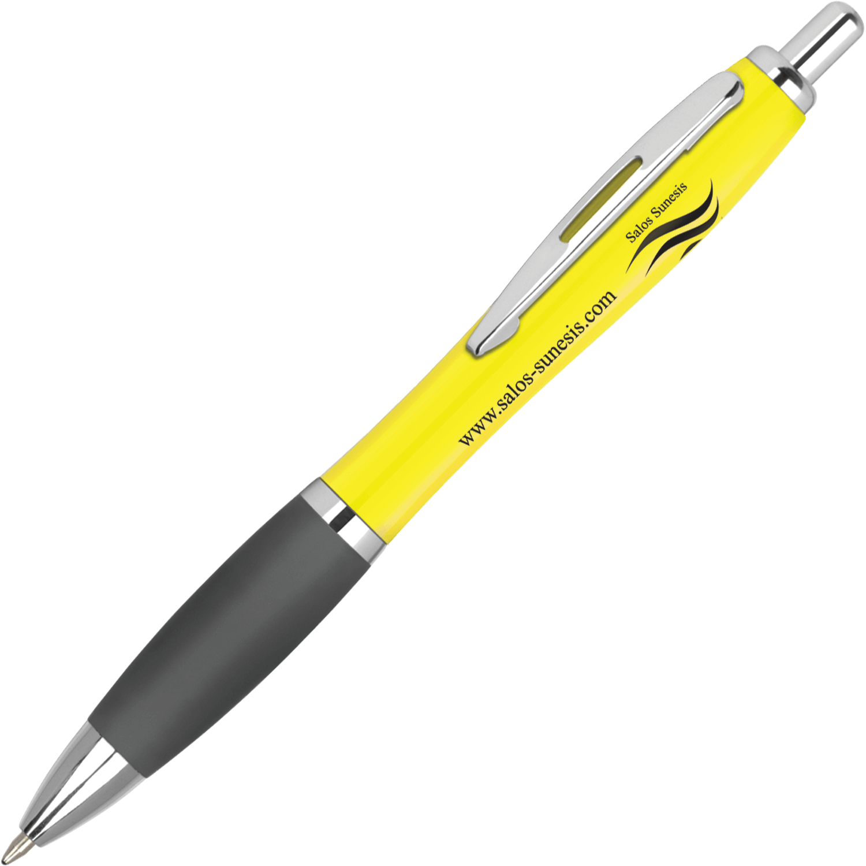 Solid Yellow - Black