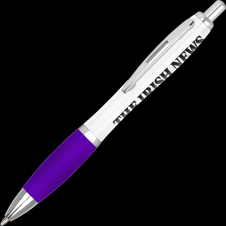 White - Purple
