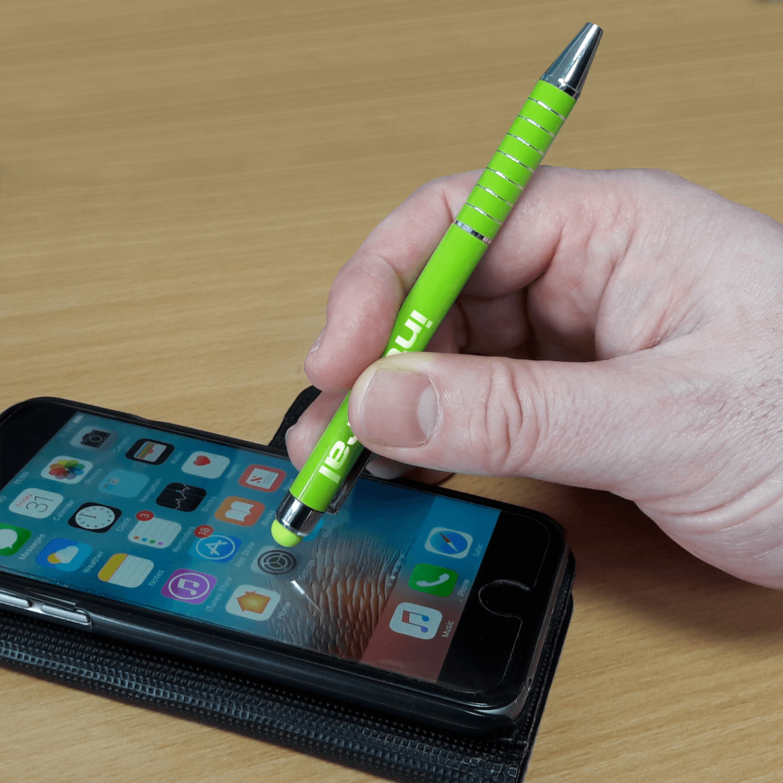 Mini Metal Printed Stylus Pen