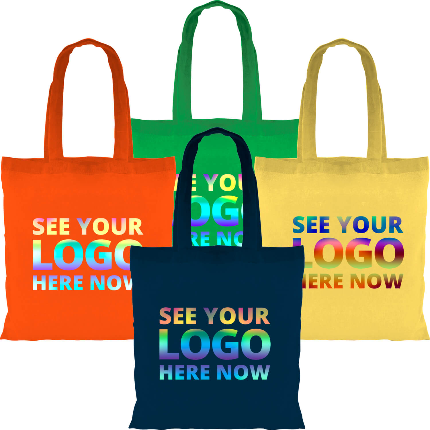 Full Colour Coloured Cotton Tote Bag 5oz