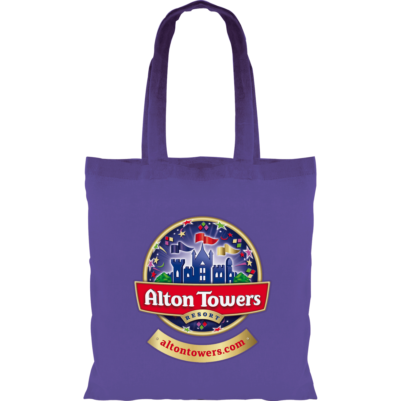 Full Colour Coloured Cotton Tote Bag 5oz