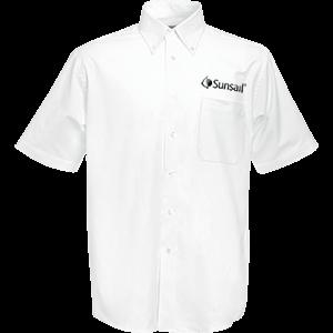 Fruit of the Loom Premium Short Sleeve Oxford Shirt