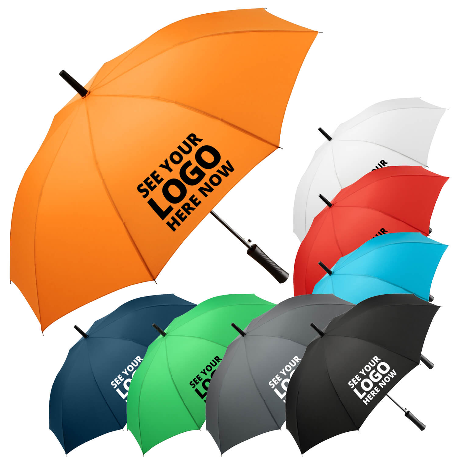 Fare Storm Proof Walking Umbrella