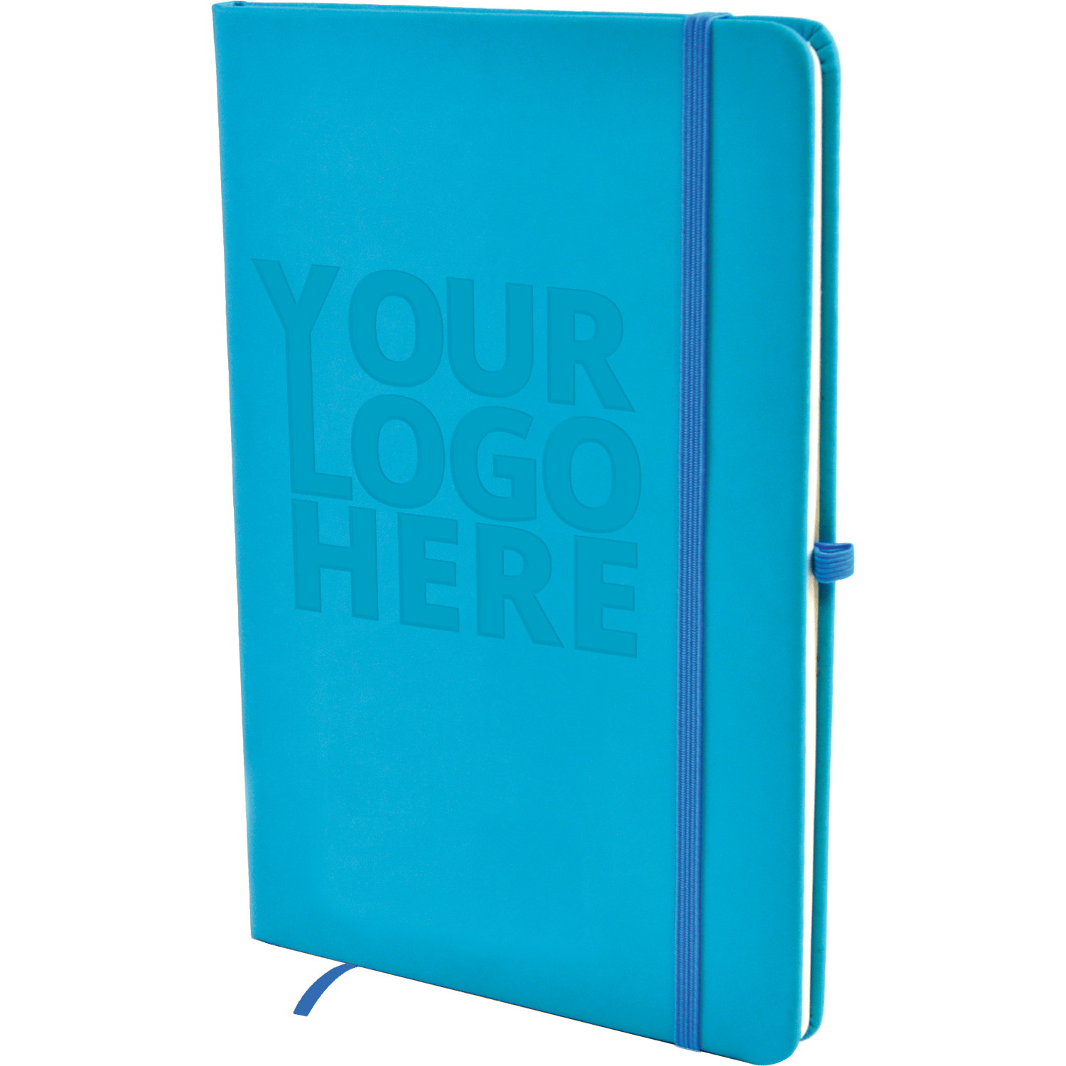 A5 Debossed Soft Touch Lined Notebook