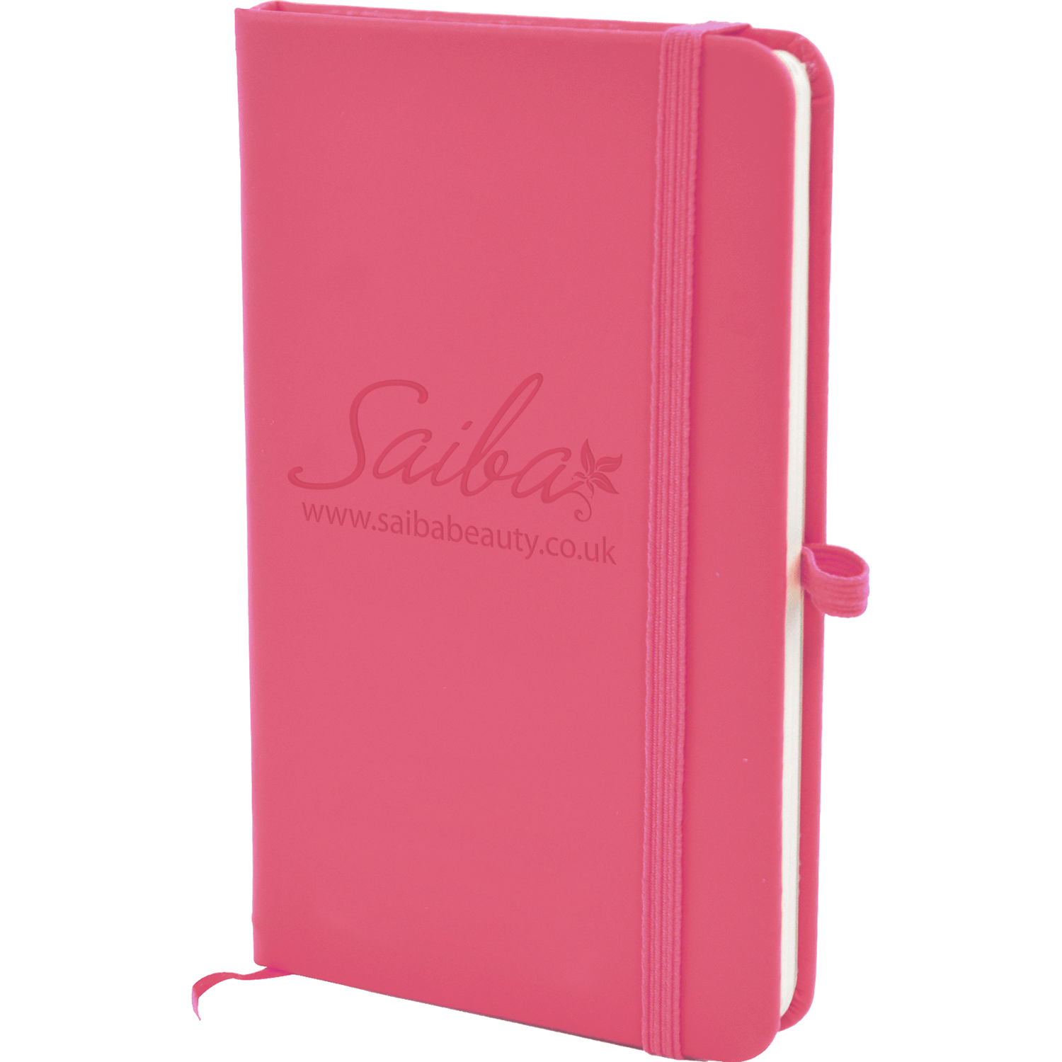 A6 Debossed Soft Touch Lined Notebook