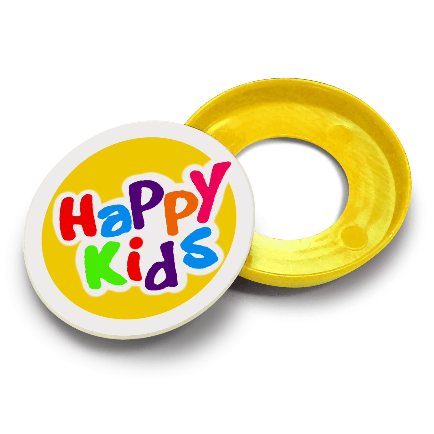 Kids Safety Pop Badge