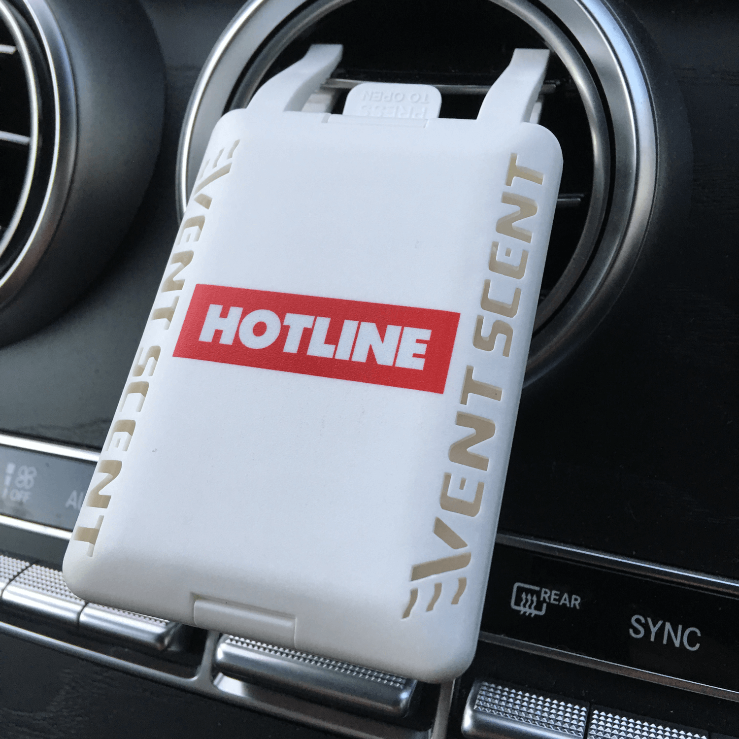 Printed Vent Scent Car Air Freshener