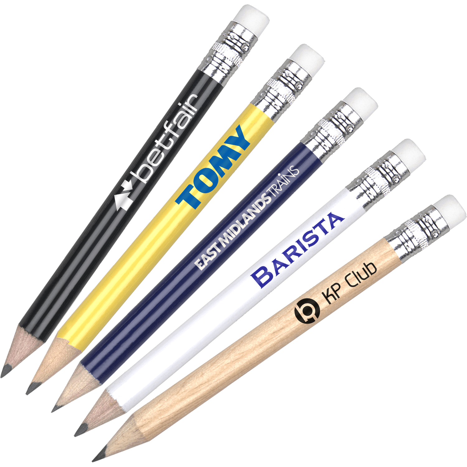Golf Pencil With Eraser
