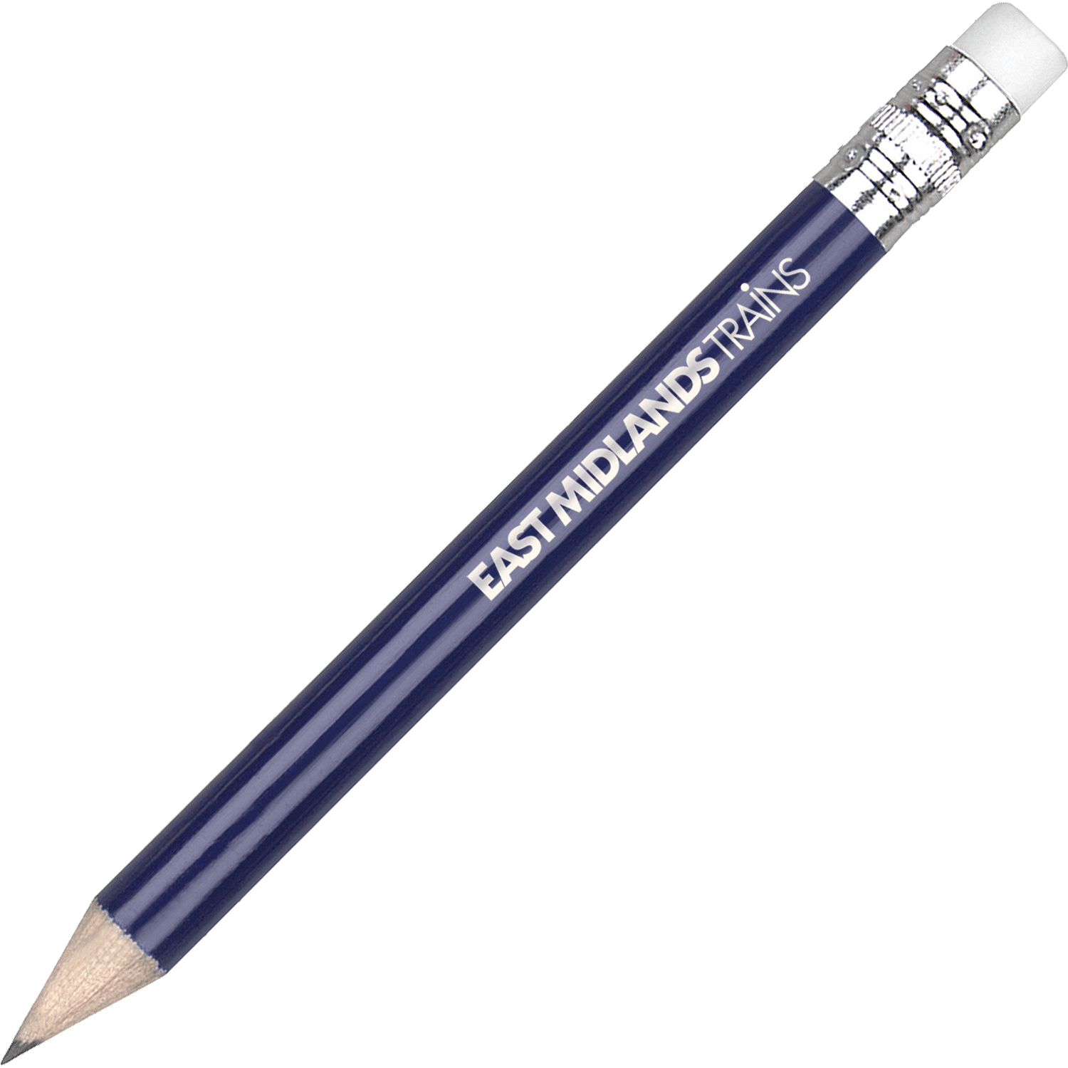 Printed Golf Pencil with Eraser