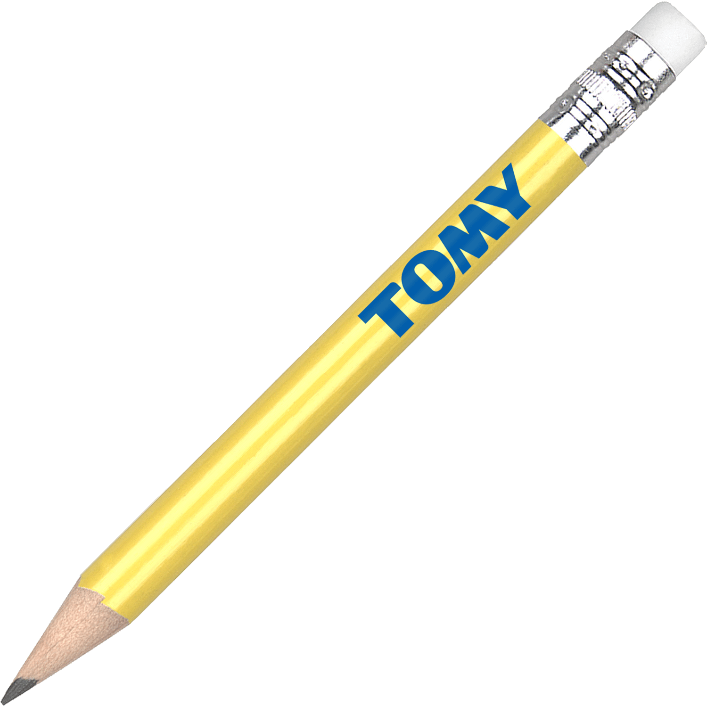 Golf Pencil With Eraser