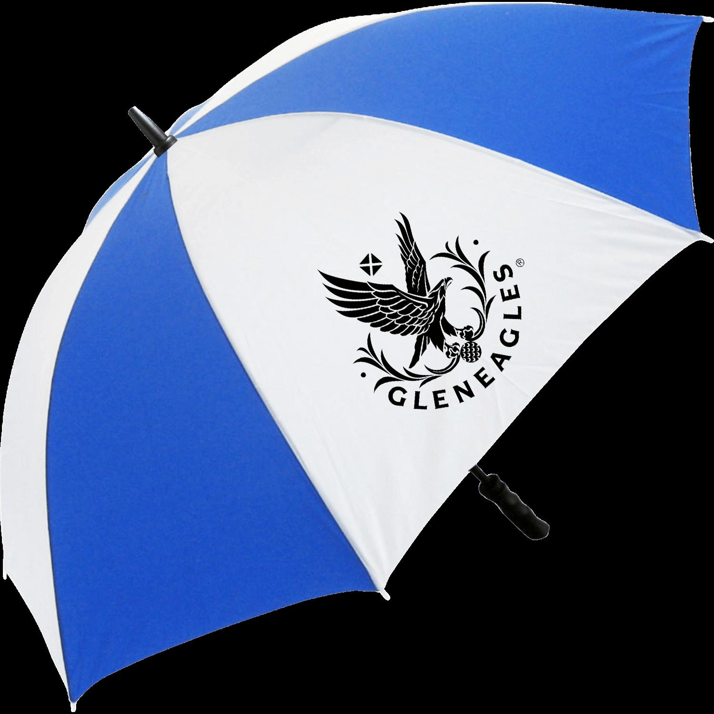 Royal Blue (7687) & White