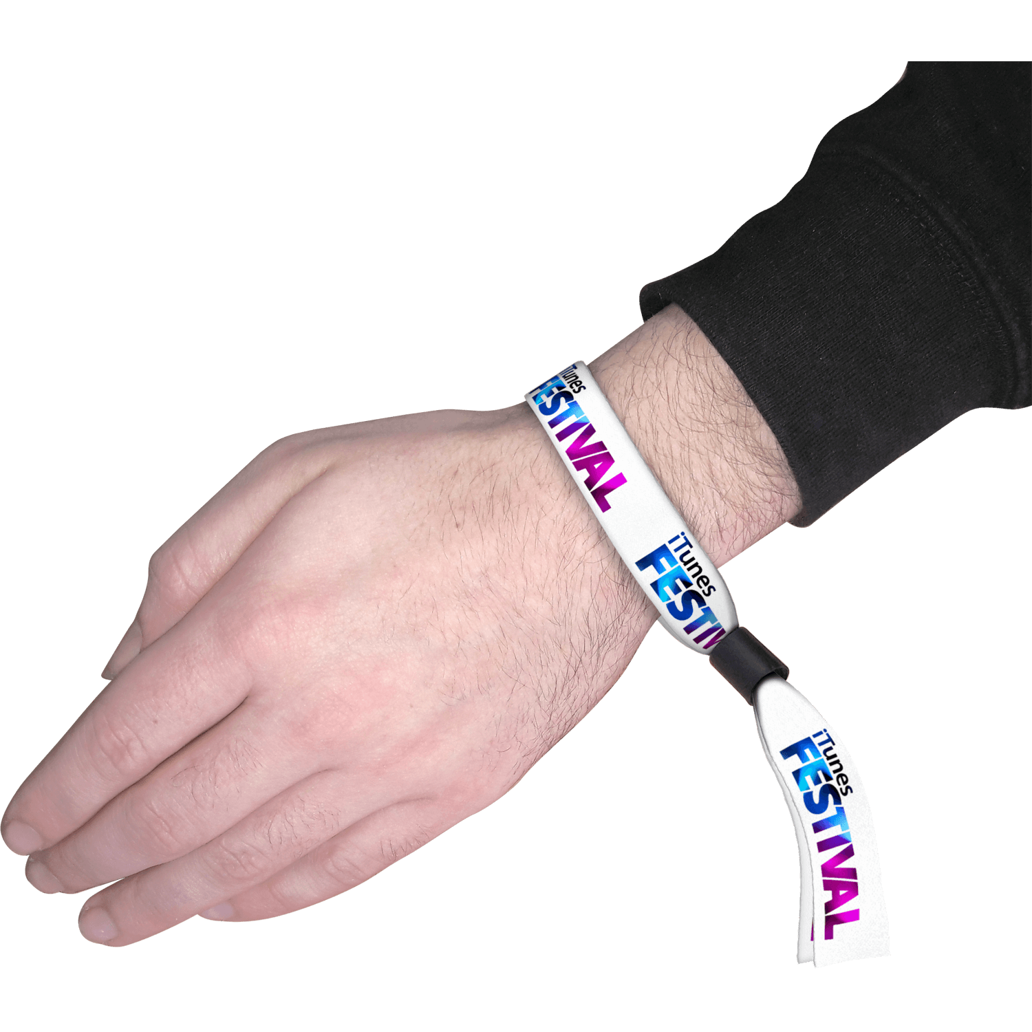 Festival Fabric Wristbands - 15mm