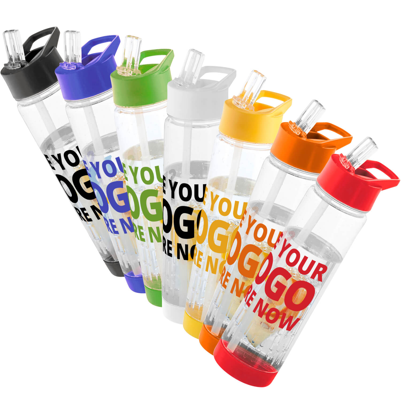 Tutti Frutti Infuser Water Bottle Printed
