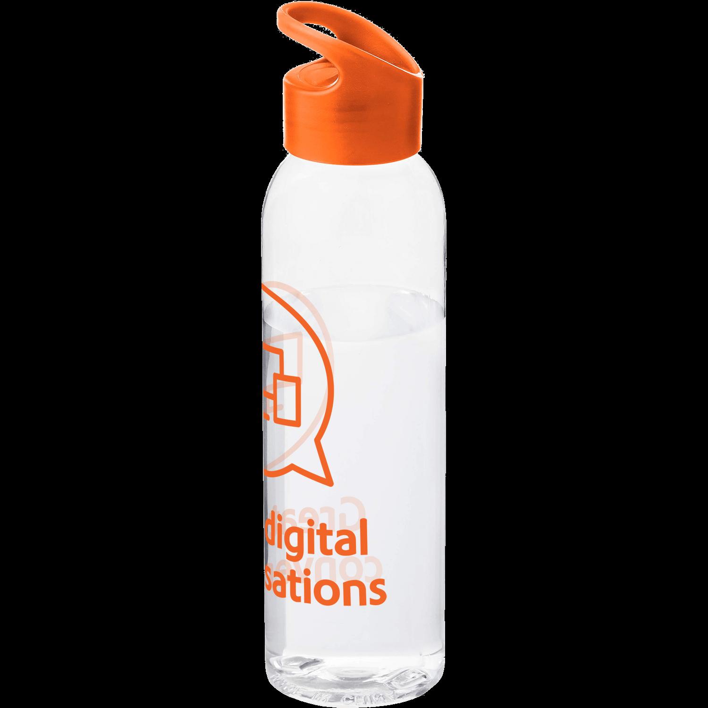 Transparent - Orange Lid