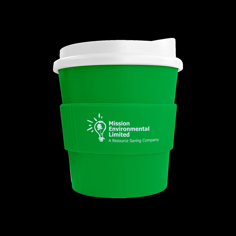 Green Mug (7481) - White Lid - Green Grip (7481)