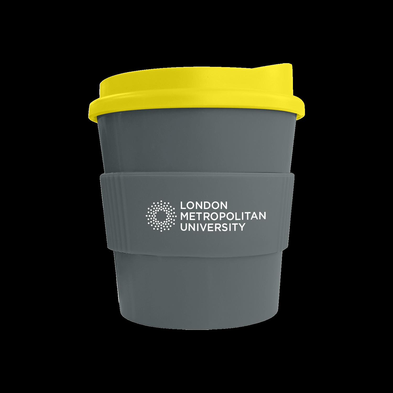 Grey Mug (444u) - Yellow Lid (114) - Grey Grip (444u)