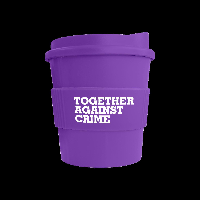 Purple Mug (2587) - Purple Lid (2587) - Purple Grip (2587)