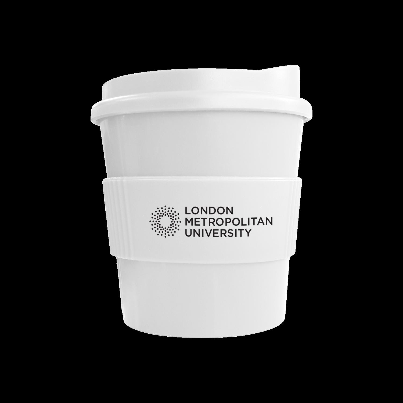 White Mug - White Lid - White Grip