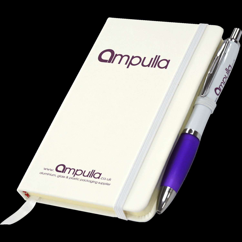 A6 Everest Notebook & Pen