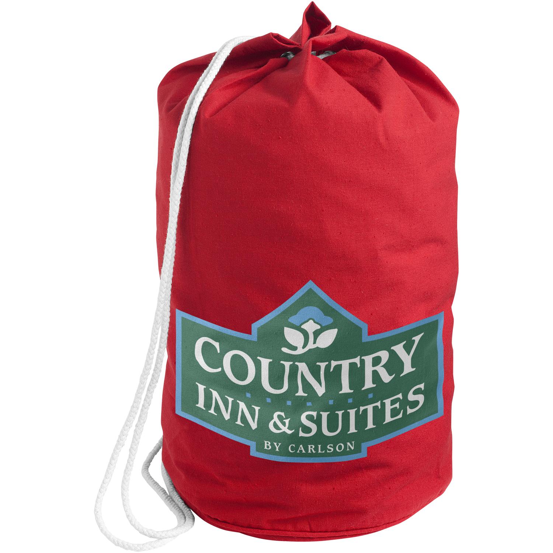 Cotton sailor duffel bag