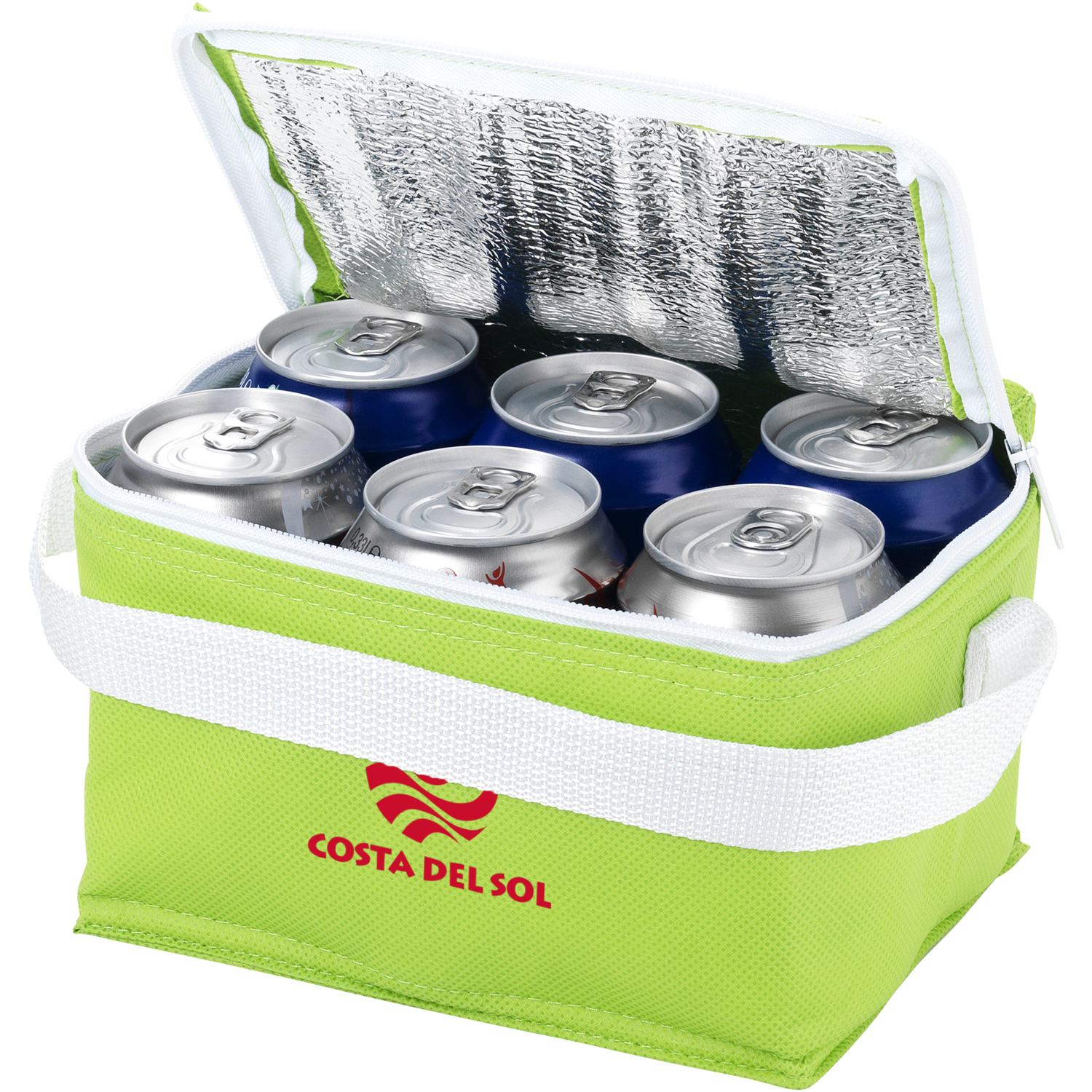 Spectrum 6-Can Non-Woven Cooler Bag