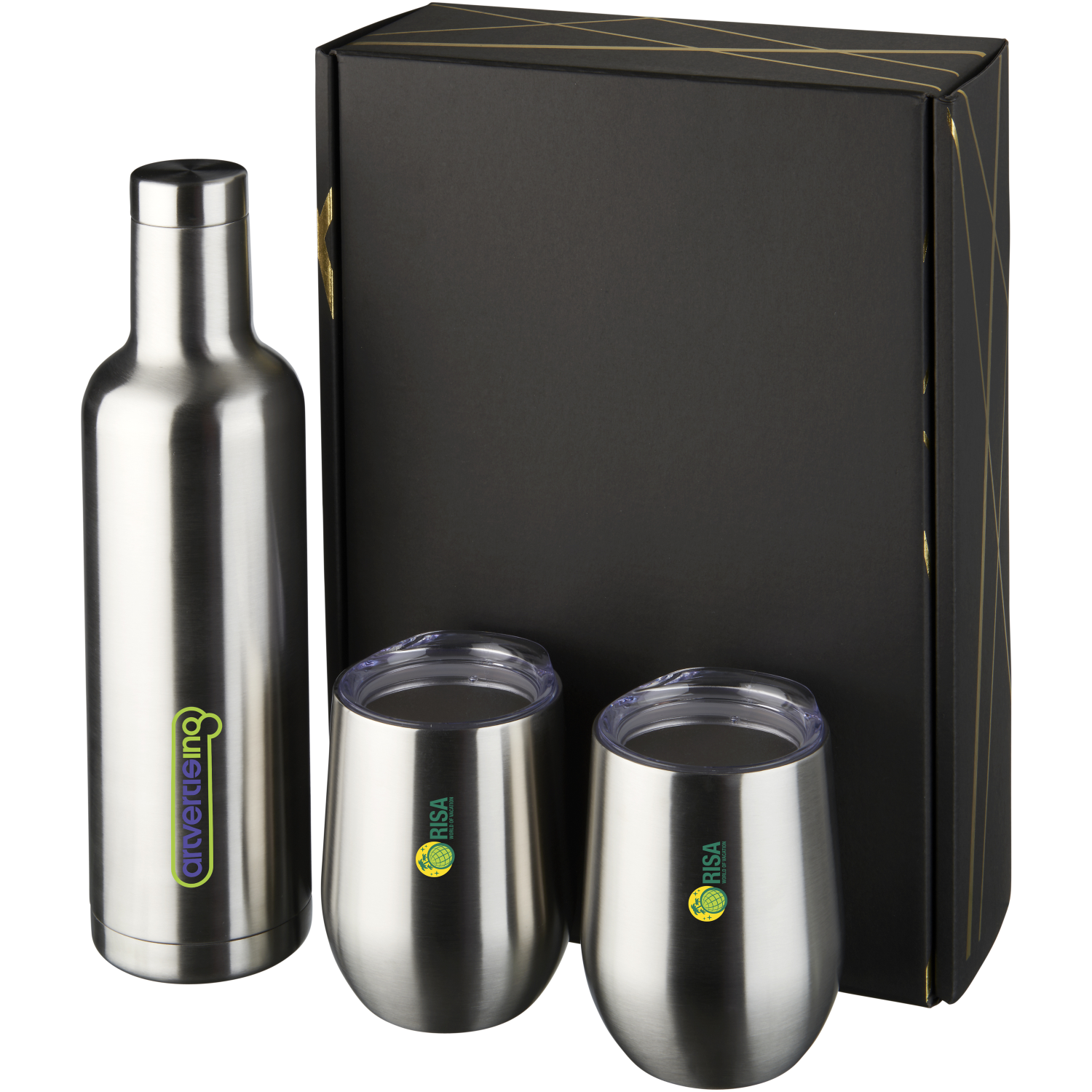 Pinto And Corzo Copper Vacuum Insulated Gift Set