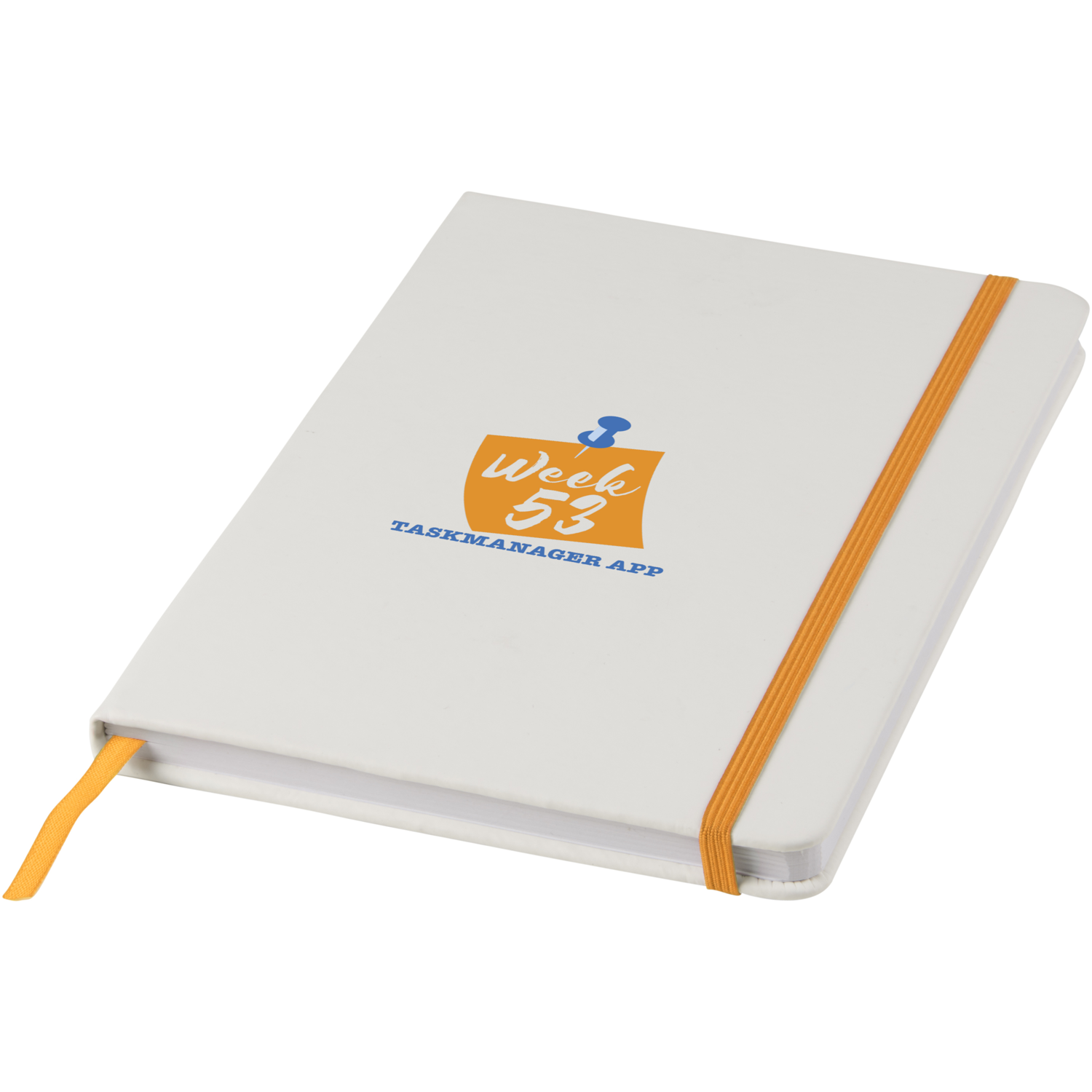 Event A5 White Notebook