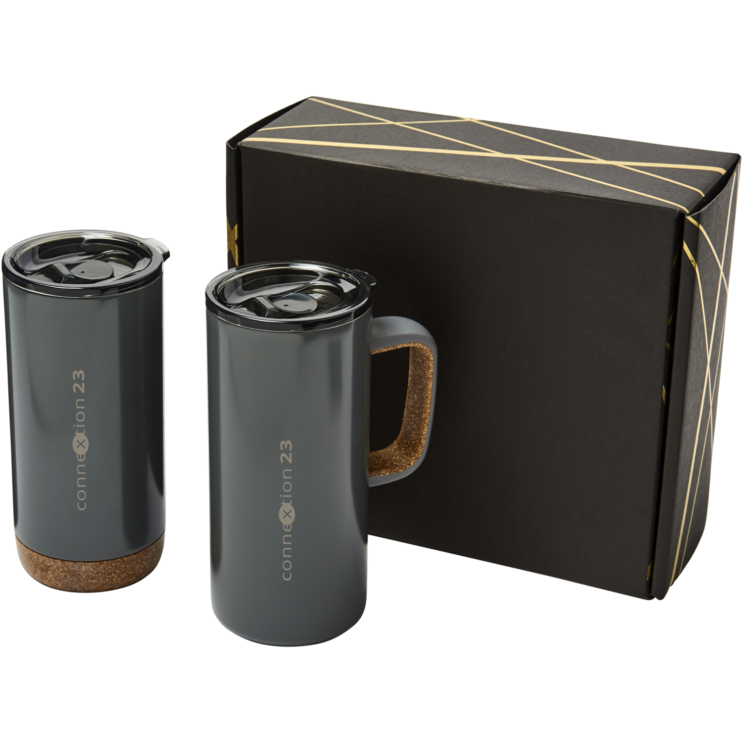 Valhalla Mug And Tumbler Copper Gift Set