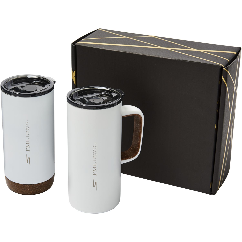 Valhalla Mug And Tumbler Copper Gift Set