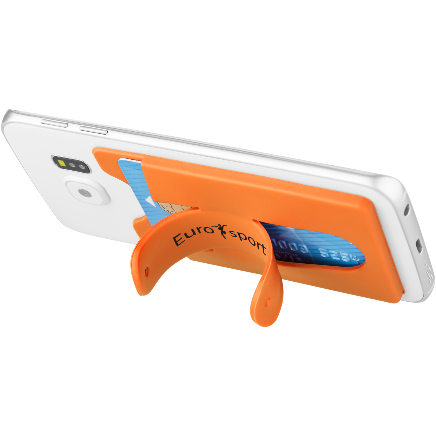 Safari Silicone Smartphone Stand And Wallet