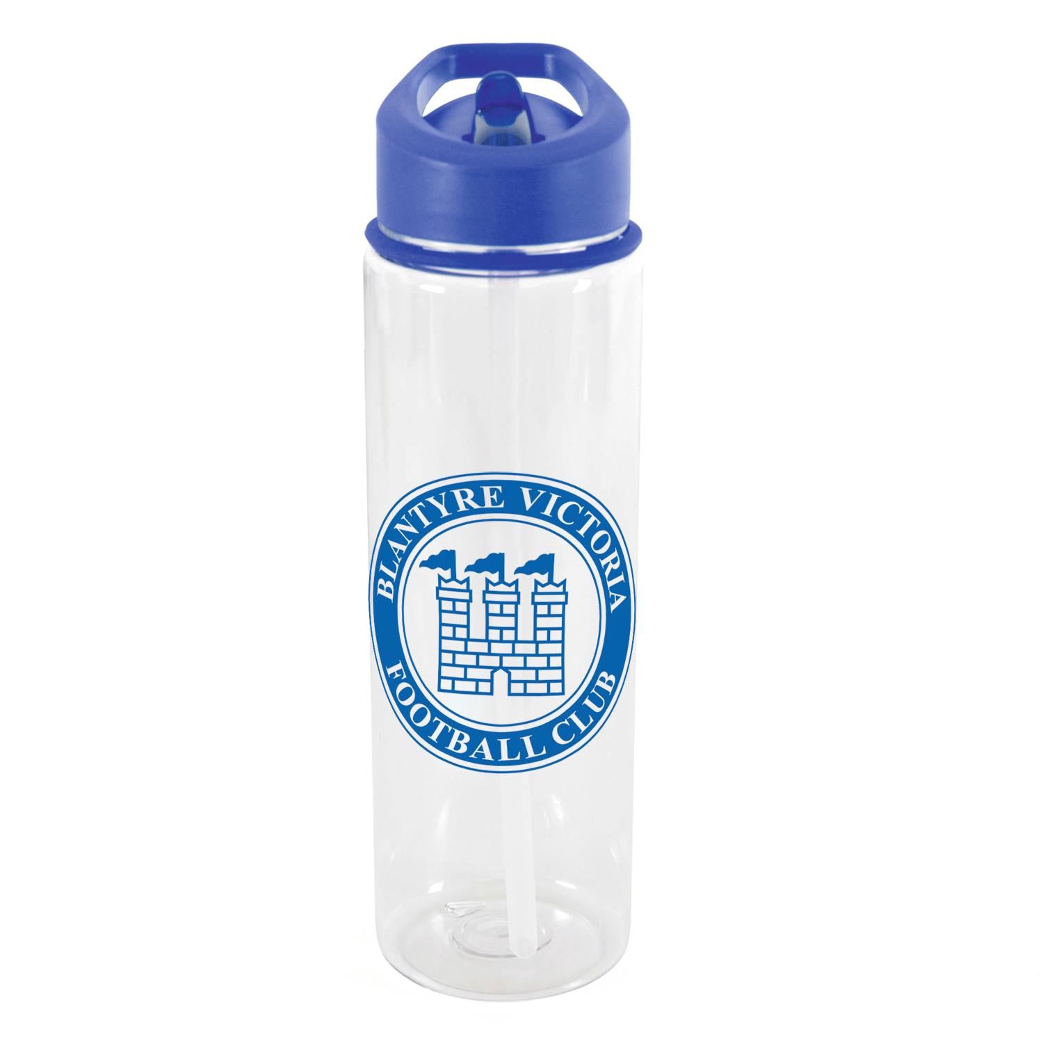 Clear - Blue Lid