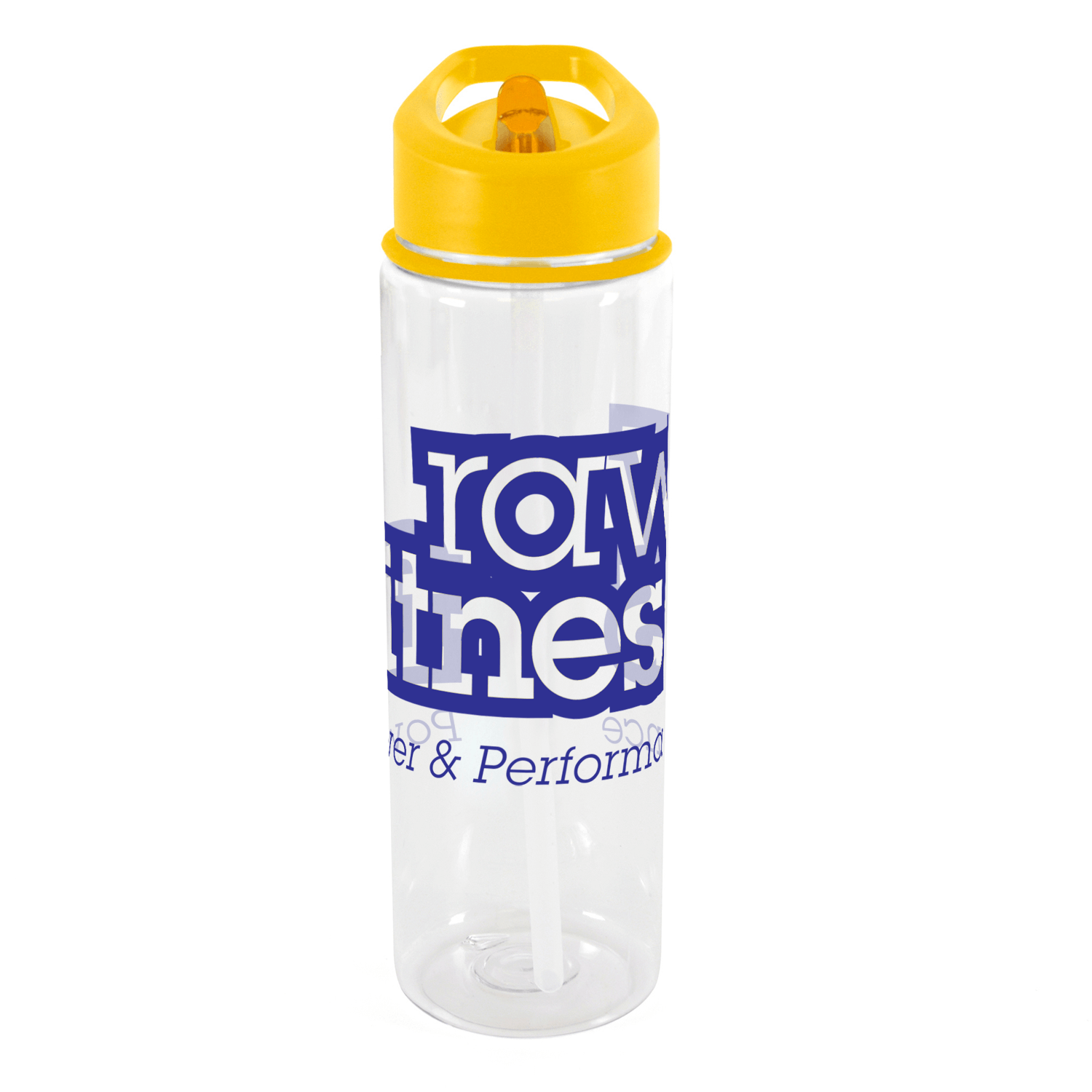 Clear - Yellow Lid
