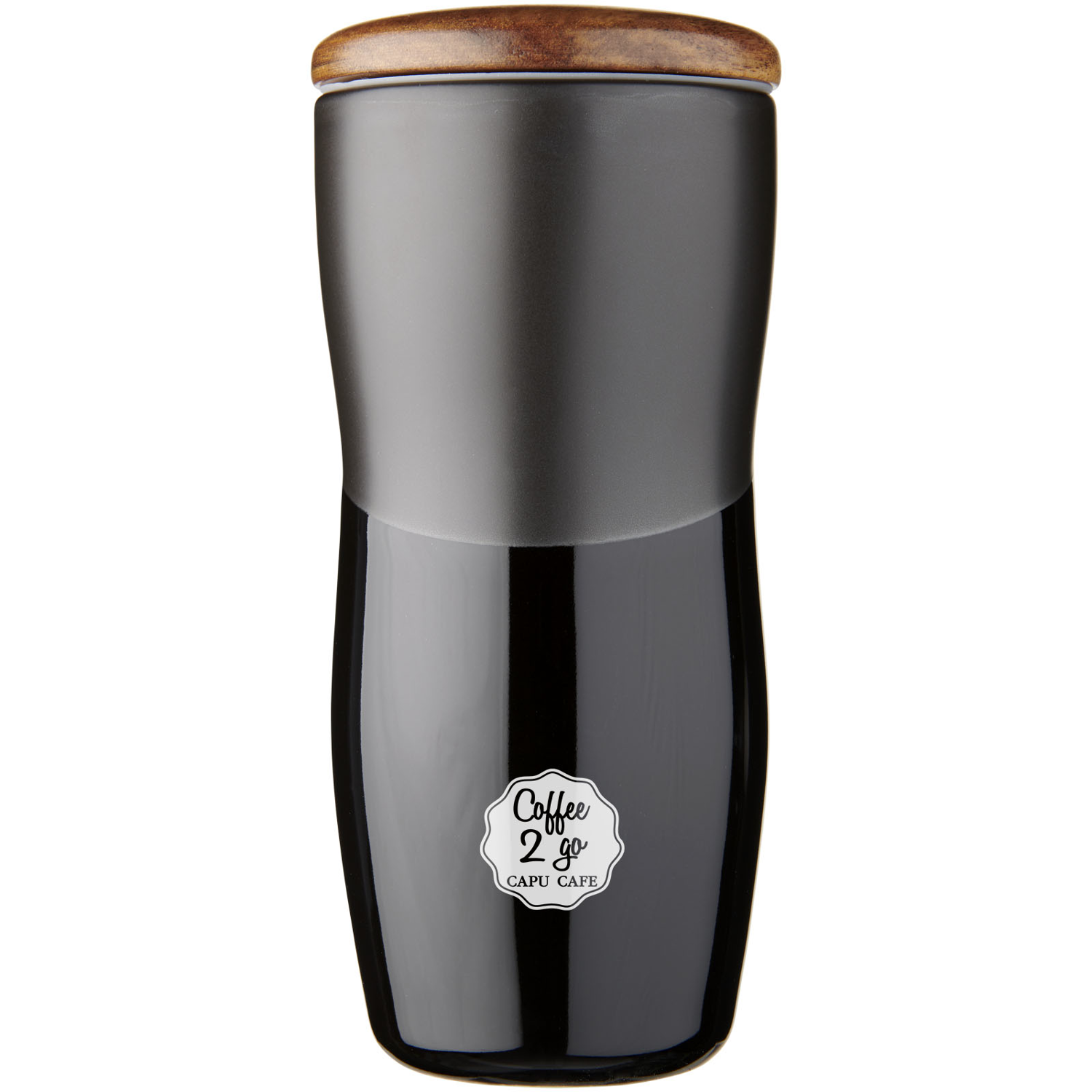 Reno 370 Ml Double-Walled Ceramic Tumbler