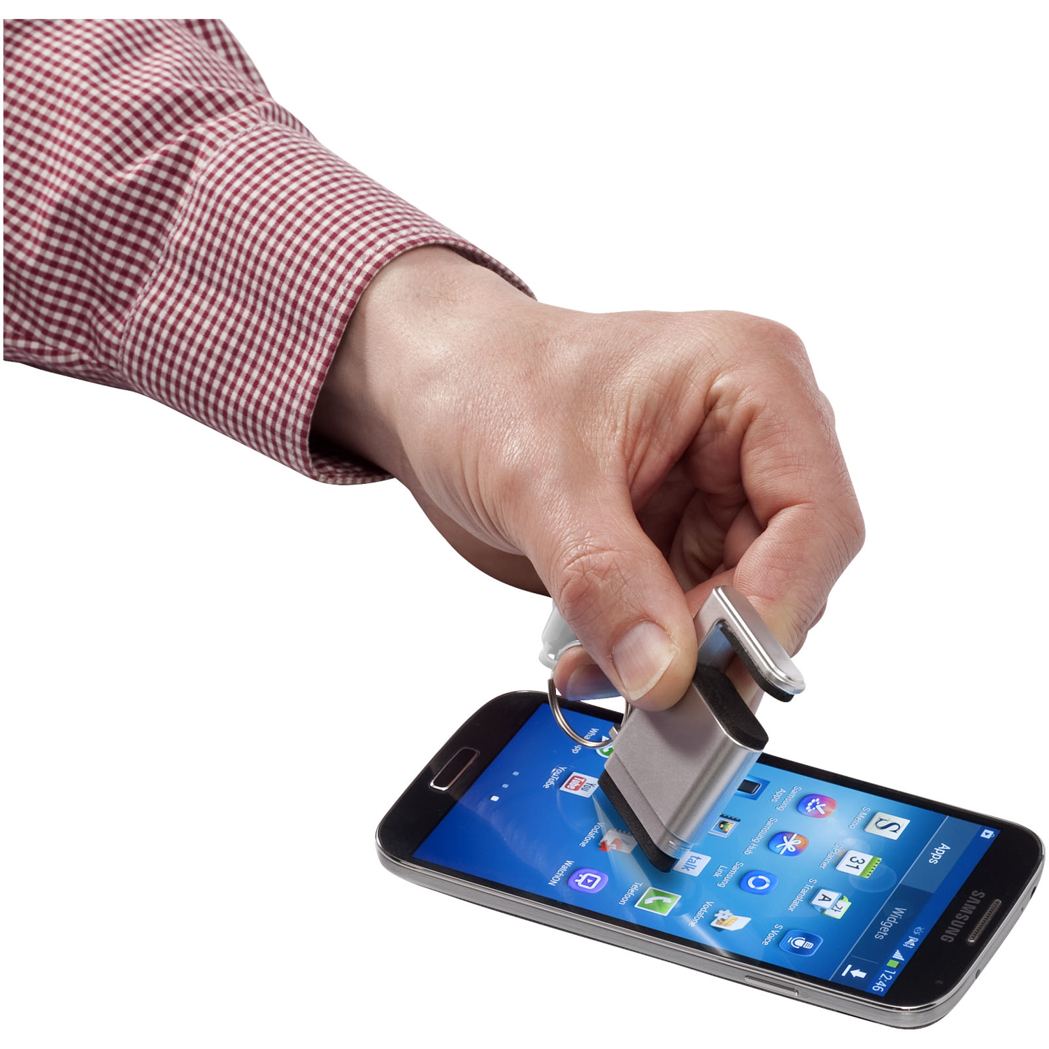 Gogo Screen Cleaner And Smartphone Holder