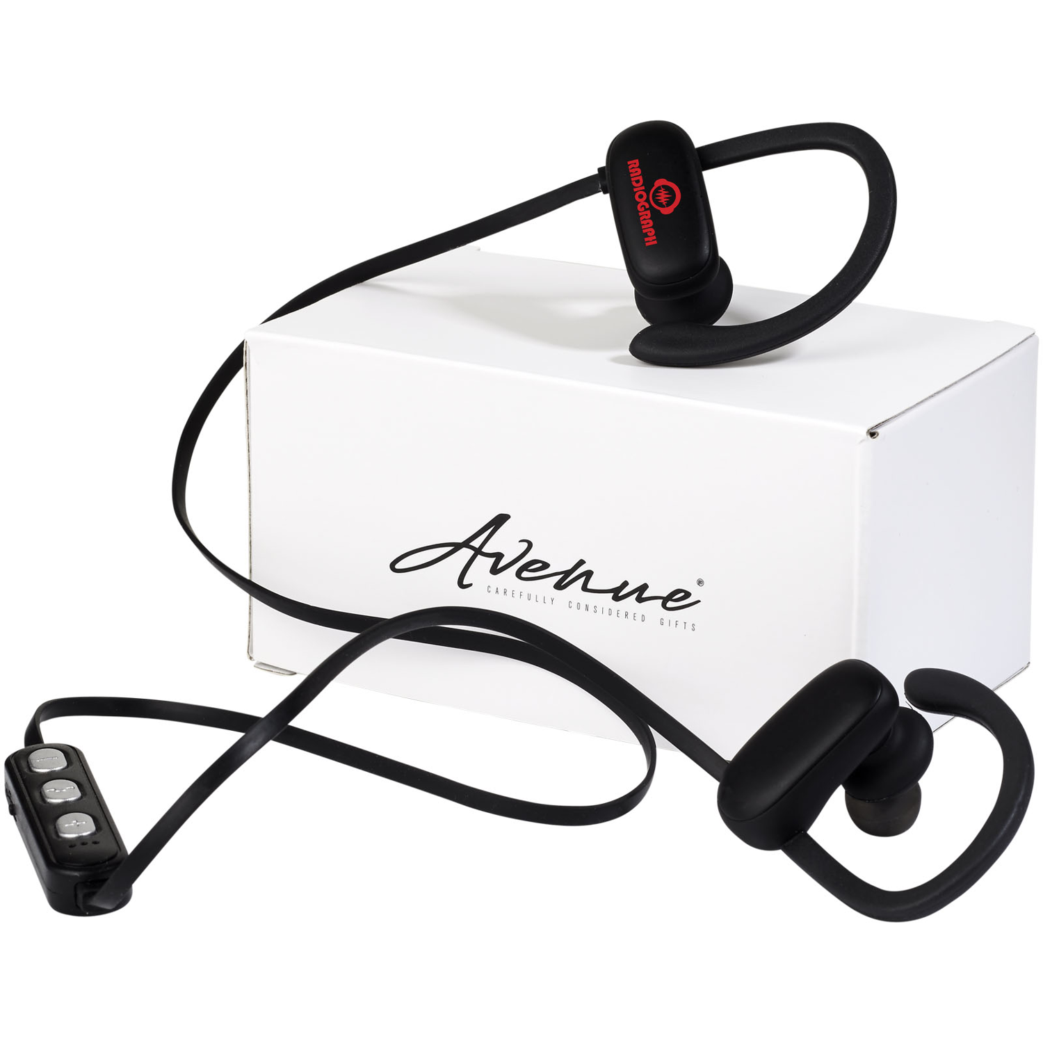 Brilliant Light-Up Logo Bluetooth® Earbuds
