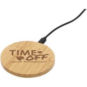 Essence Bamboo Wireless Charging Pad