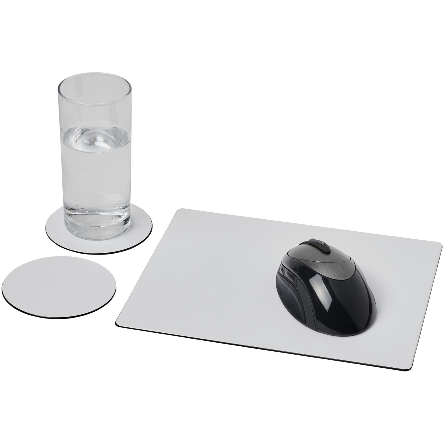 Brite-Mat® Mouse Mat And Coaster Set Combo 2
