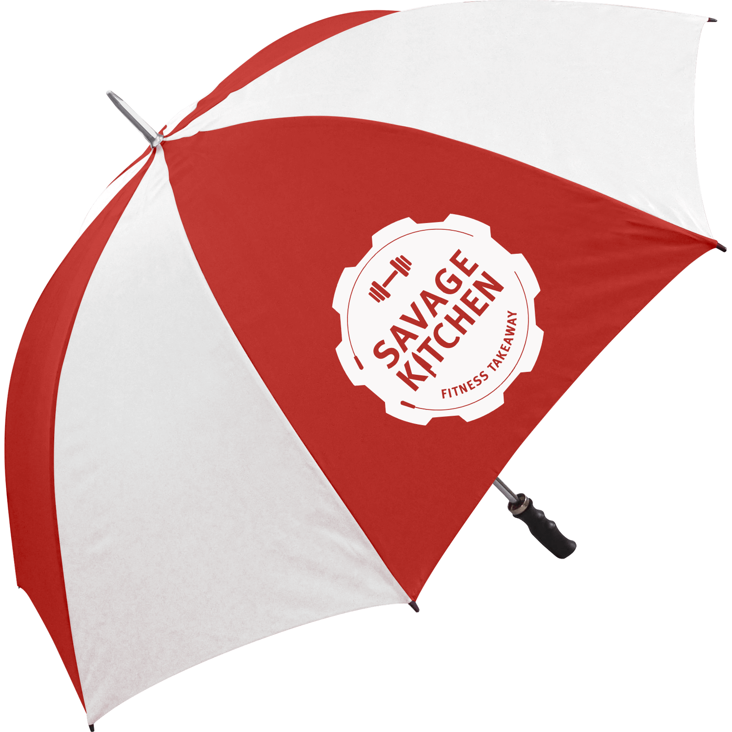 Value Sports Promotional Umbrella - 1 Panel Print